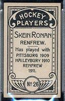 1911-1912 C55 Imperial Tobacco #26 Skein Ronan Renfrew - Back
