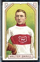 1911-1912 C55 Imperial Tobacco #27 Walter Smaill (hand on hip) Wanderers - Front