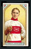 1911-1912 C55 Imperial Tobacco #28 Ernie Johnson Wanderers - Front