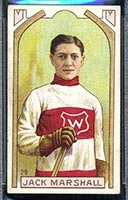 1911-1912 C55 Imperial Tobacco #29 Jack Marshall Wanderers - Front