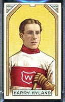 1911-1912 C55 Imperial Tobacco #30 Harry Hyland Wanderers - Front