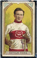1911-1912 C55 Imperial Tobacco #31 Arthur Ross Wanderers - Front
