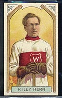 1911-1912 C55 Imperial Tobacco #32 Riley Hern Wanderers - Front