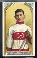 1911-1912 C55 Imperial Tobacco #33 Gordon Roberts Wanderers - Front