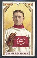 1911-1912 C55 Imperial Tobacco #36 James Gardiner (Gardner) Wanderers - Front
