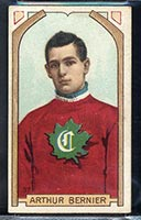 1911-1912 C55 Imperial Tobacco #37 Art Bernier Canadiens - Front