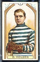 1911-1912 C55 Imperial Tobacco #3 Barney Holden Quebec - Front
