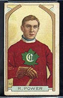 1911-1912 C55 Imperial Tobacco #40 R. (Rocket) Power Canadiens - Front