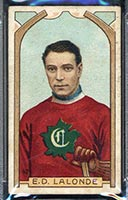 1911-1912 C55 Imperial Tobacco #42 Newsy Lalonde Canadiens - Front