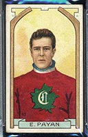1911-1912 C55 Imperial Tobacco #43 Eugene Payan Canadiens - Front