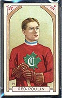 1911-1912 C55 Imperial Tobacco #44 George Poulin Canadiens - Front