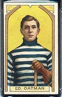 1911-1912 C55 Imperial Tobacco #5 Ed Oatman Quebec - Front