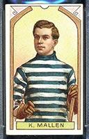 1911-1912 C55 Imperial Tobacco #7 Ken Mallen Quebec - Front
