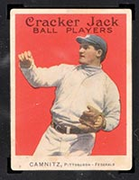 1914 E145 Cracker Jack #16 Howie Camnitz Pittsburgh (Federal) - Front