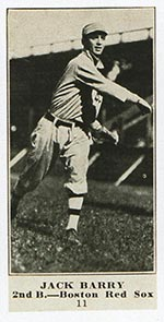 1915-1916 M101-4 Sporting News #11 Jack Barry Boston Red Sox