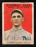 1915 E145-2 Cracker Jack #10 John McInnis Philadelphia (American) - Front