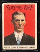1915 E145-2 Cracker Jack #12 Connie Mack Philadelphia (American) - Front