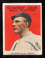 1915 E145-2 Cracker Jack #13 Art Wilson Chicago (Federal) - Front