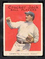 1915 E145-2 Cracker Jack #16 Howie Camnitz Pittsburgh (Federal) - Front