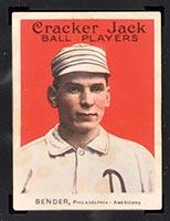 1915 E145-2 Cracker Jack #19 Chief Bender Philadelphia (American) - Front