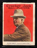 1915 E145-2 Cracker Jack #23 Charles Comiskey (Owner) Chicago (American) - Front