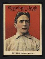 1915 E145-2 Cracker Jack #3 Joe Tinker Chicago (Federal) - Front