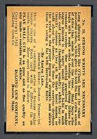 1933 DeLong #10 Frank J. (Lefty) O'Doul Brooklyn Dodgers - Back
