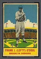 1933 DeLong #10 Frank J. (Lefty) O'Doul Brooklyn Dodgers - Front