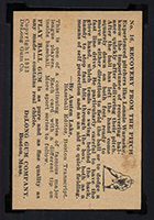 1933 DeLong #16 Lon Warneke Chicago Cubs - Back