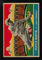 1933 DeLong #17 Pepper Martin St. Louis Cardinals - Front