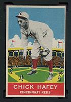 1933 DeLong #19 Chick Hafey Cincinnati Reds - Front
