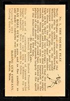 1933 DeLong #1 Marty McManus Boston Red Sox - Back