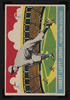 1933 DeLong #23 Robert (Lefty) Grove Philadelphia Athletics - Front