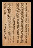1933 DeLong #3 Oscar Melillo St. Louis Browns - Back