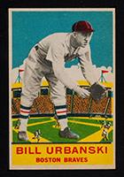 1933 DeLong #9 Bill Urbanski Boston Braves - Front
