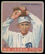 1933 Goudey #15 Victor Sorrell Detroit Tigers - Front