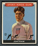 1933 Goudey Sport Kings #11 Charles Jewtraw Ice Skating - Front