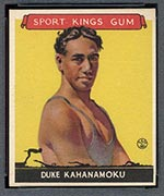 1933 Goudey Sport Kings #20 Duke Kahanamoku Swimming - Front