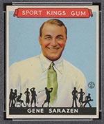 1933 Goudey Sport Kings #22 Gene Sarazen Golf - Front