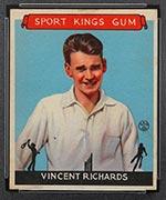 1933 Goudey Sport Kings #23 Vincent Richards Tennis - Front