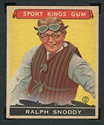 1933 Goudey Sport Kings #25 Ralph Snoddy Speedboats - Front
