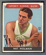 1933 Goudey Sport Kings #3 Nat Holman Basketball - Front