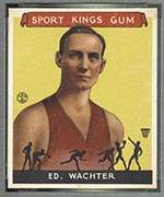 1933 Goudey Sport Kings #5 Ed Wachter Basketball - Front