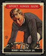 1933 Goudey Sport Kings #7 Bobby Walthour, Sr. Bicycling - Front