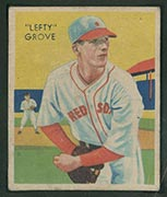 "1934-1936 R327 Diamond Stars #1 ""Lefty"" Grove (1934) Boston Red Sox - Front"