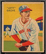 "1934-1936 R327 Diamond Stars #1 ""Lefty"" Grove (1935) Boston Red Sox - Front"
