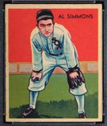 1934-1936 R327 Diamond Stars #2 Al Simmons (1935) Chicago White Sox - Front