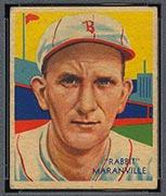 "1934-1936 R327 Diamond Stars #3 ""Rabbit"" Maranville (1935) Boston Braves - Front"