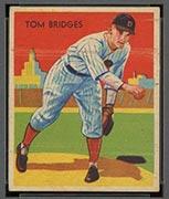 1934-1936 R327 Diamond Stars #5 Tom Bridges (1936) Detroit Tigers - Front