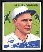 1934 Goudey #7 Leo Durocher St. Louis Cardinals - Front